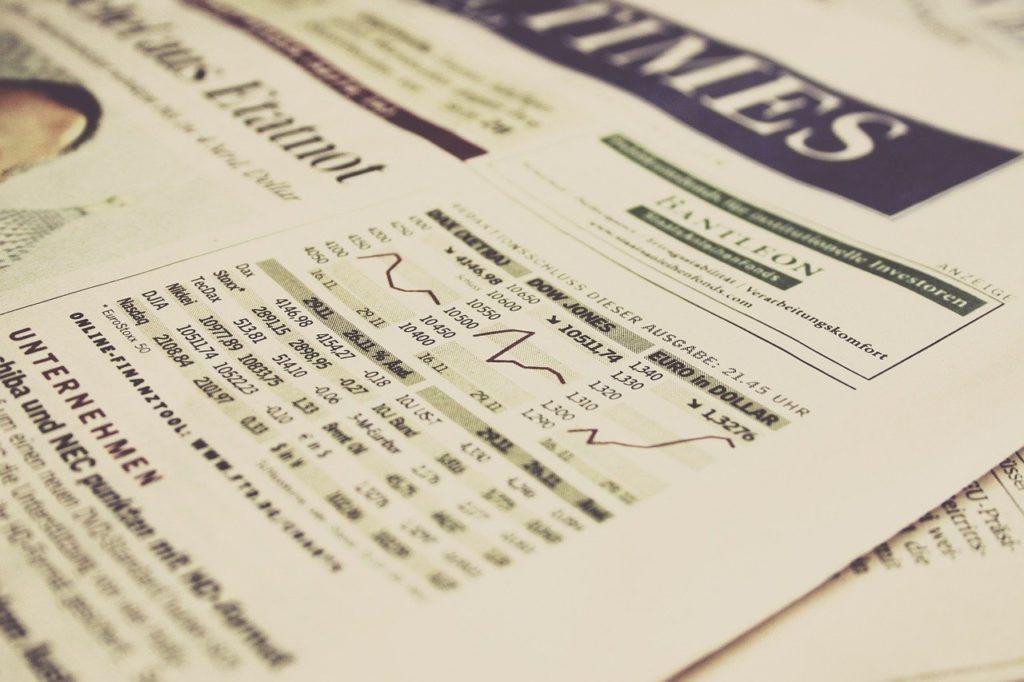 Dow Jones, indice americano più antico