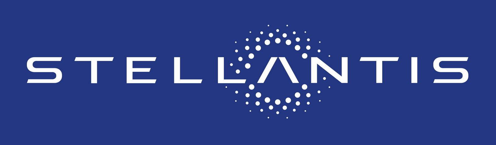 Logo Stellantis, nata dalla fusione tra Peugeot e Fiat