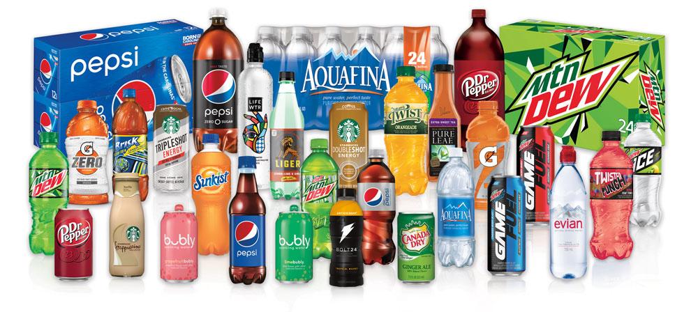 Brand Bevande di PepsiCo